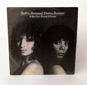 Barbra Streisand Donna Summer No More Tears Bagnato Disco In Vinile Ebay