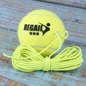 Elastic-Rubber-Band-Tennis-Ball-Single-Practice-Training-Belt-Line-Cord-Tool-vi