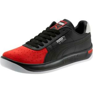 PUMA-GV-SPECIAL-SW-SPEEDWAY-370588-01-BLACK-HIGH-RISK-RED-WHITE-SUEDE-LEATHER
