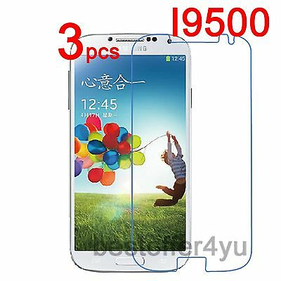 3x Ultra Clear Screen Protector For Samsung Galaxy S4 SIV I9500 Protective Film