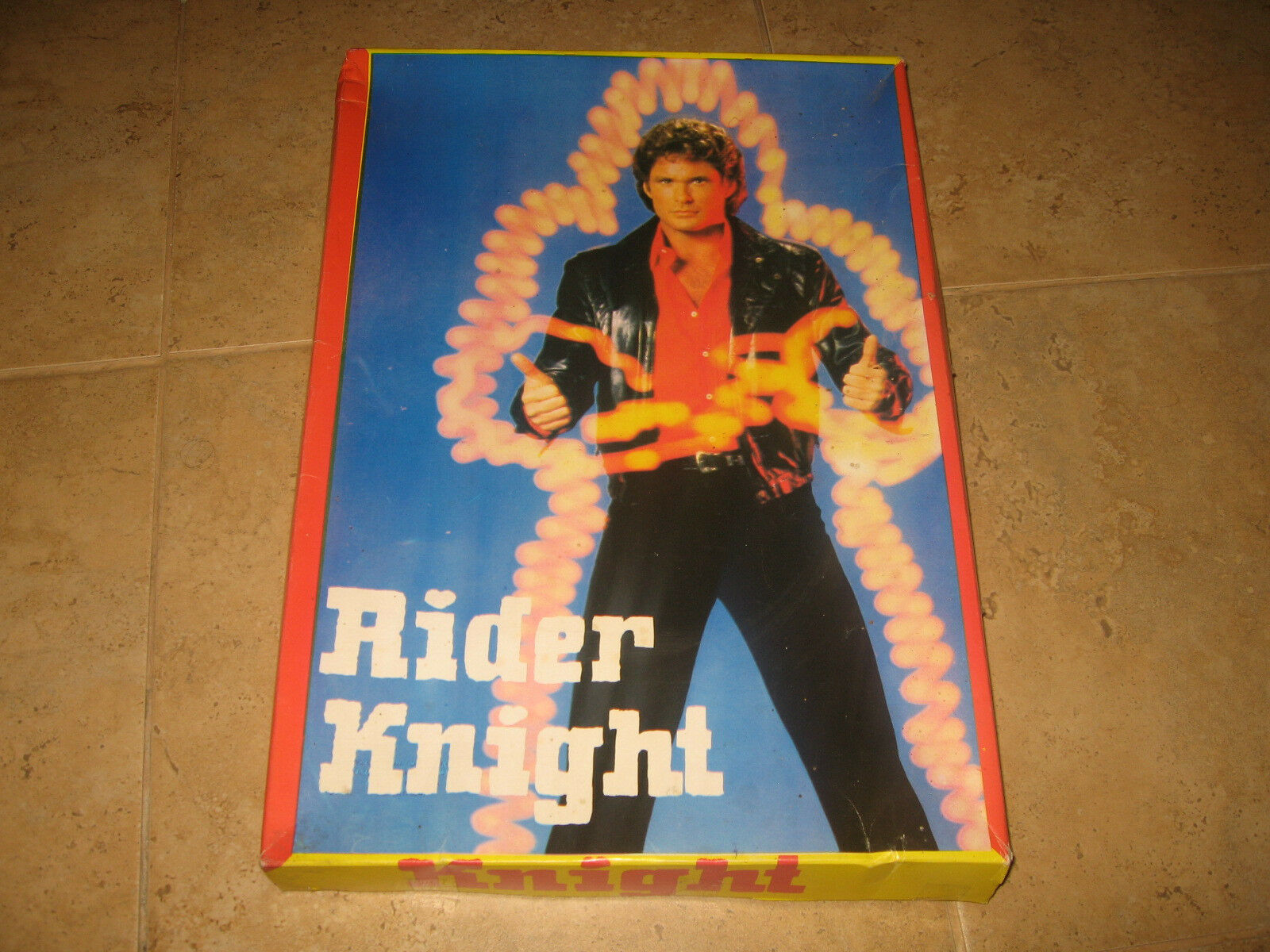 VINTAGE Très Rare Greek Board Game – Rider Knight-Série TV... NEUF