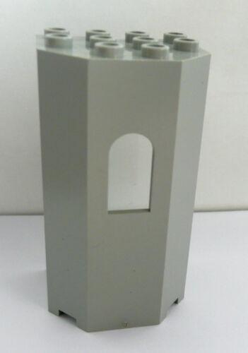 Baukästen & Konstruktion 1 x LEGO® 30246 Burgecke,Erker,Turm neuhellgrau wie auf dem Foto gebraucht.