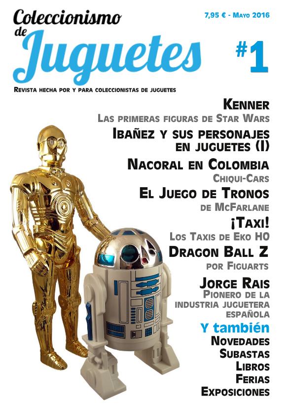REVISTA COLECCIONISMO DE JUGUETES 1 AL 16 - COLECCIÓN COMPLETA