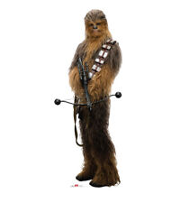 'STAR WARS - LAST JEDI - CHEWBACCA - LIFE SIZE STANDUP/CUTOUT BRAND NEW - 2542' from the web at 'https://i.ebayimg.com/images/g/RtEAAOSwD6xZsAWE/s-l225.jpg'