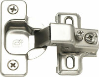 Face Frame Concealed Cabinet Hinges Self Closing 1150wd Compact Euro 50 Lot Pack