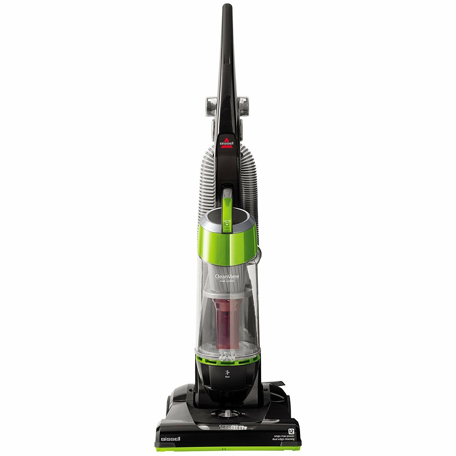 Bissell Cleanview Bagless Upright Vacuum One-Pass Technology