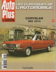 LES-CLASSIQUES-DE-L-039-AUTOMOBILE-77-CHRYSLER-180-1974-CHRYSLER-2-LITRES-NEW-YORKER