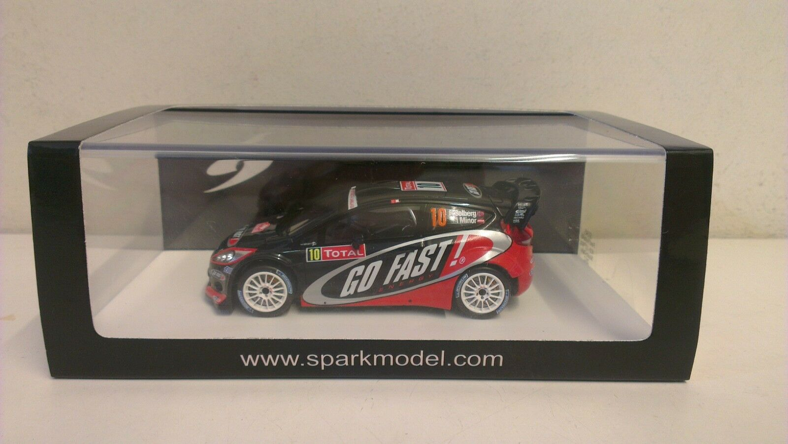 SPARK-FORD FIESTA RS  10 13TH WRC Monte Carlo 2012 SCALA 1 43 S3345