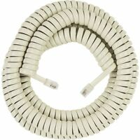Audiovox Accessories 25´ Almond Handset Coil Phone Cord