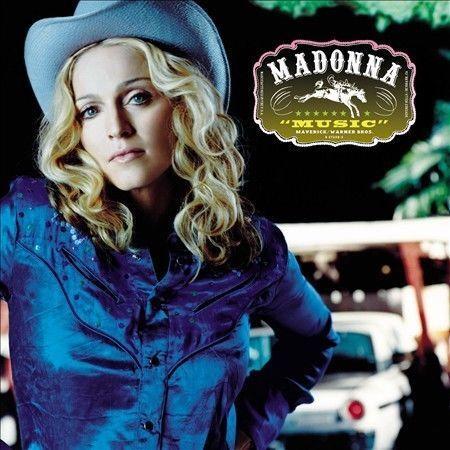 Music by Madonna (CD, Sep-2000, Warner Bros.)