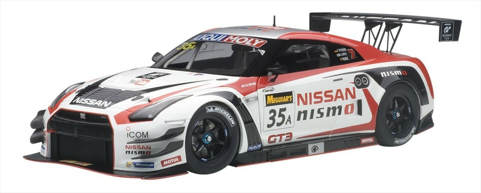 Nissan GT-R Nismo GT3 Bathurst 12 Hours Winner 2015 F.1 18 Model Car NEW Japan