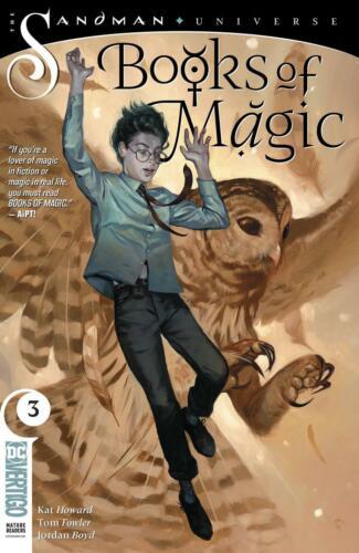 BOOKS OF MAGIC #3 SANDMAN UNIVERSE DC VERTIGO 2019 STOCK IMAGE