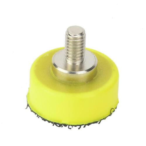 1-6  Polishing Sanding Disc Backing Pad Hook Loop For Pneumatic Sander New Uk