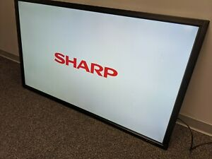 QTY 4 SHARP PN-E602 DIGITAL SIGNAGE LCD DISPLAY MONITOR 1920X1080 FULL HD