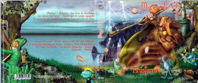 Mägo de Oz - Finisterra - Erstausgabe Locomotive Music 2000 - Digipak 2 CD