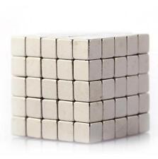 100pcs Neodymium Magnets 3mm Cube N35 Rare Earth Disc Super Strong Rare EarthL
