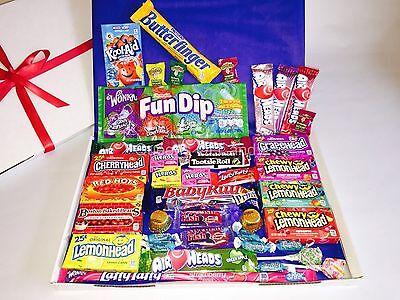 American Sweets Hamper - USA -Chocolate Candy Gift Box - Birthday Present NL1150