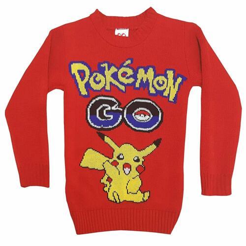 New Kids Childrens Boys Girls Xmas Christmas Winter Jumper Sweater Knitted Retro
