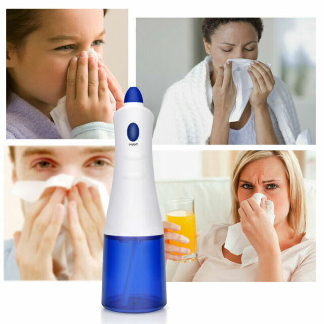 Electric Nasal Irrigation Nose Cleaner Washer Machine Neti Pot For