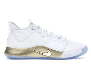 2019 Nike Air PG 3 NASA White Gold