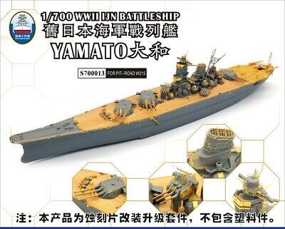 Pit-Road 1//700 IJN Battleship Yamato Late Type Plastic Model