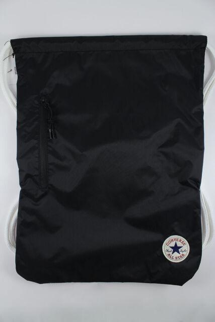 fee737240c Converse CTAS Cinch Gym School Bag Backpack Black 10003340 001 for ...