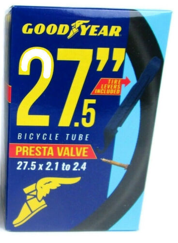 NEUF 27.5 x 1.75-27.5 x 2.125 Vélo Goodyear Tube Pour Presta Valve System