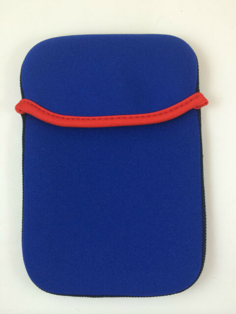 "FUNDA DE NEOPRENO 7"" PULGADAS PARA TABLET EBOOK COLOR AZUL"
