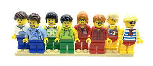 LEGO-LOT-OF-8-NEW-MINIFIGURES-Brand-New-Lego-Town-People