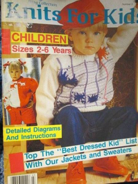 Diana S Knits For Kids Knitting Book 3 With 47 Styles 2 6 Year