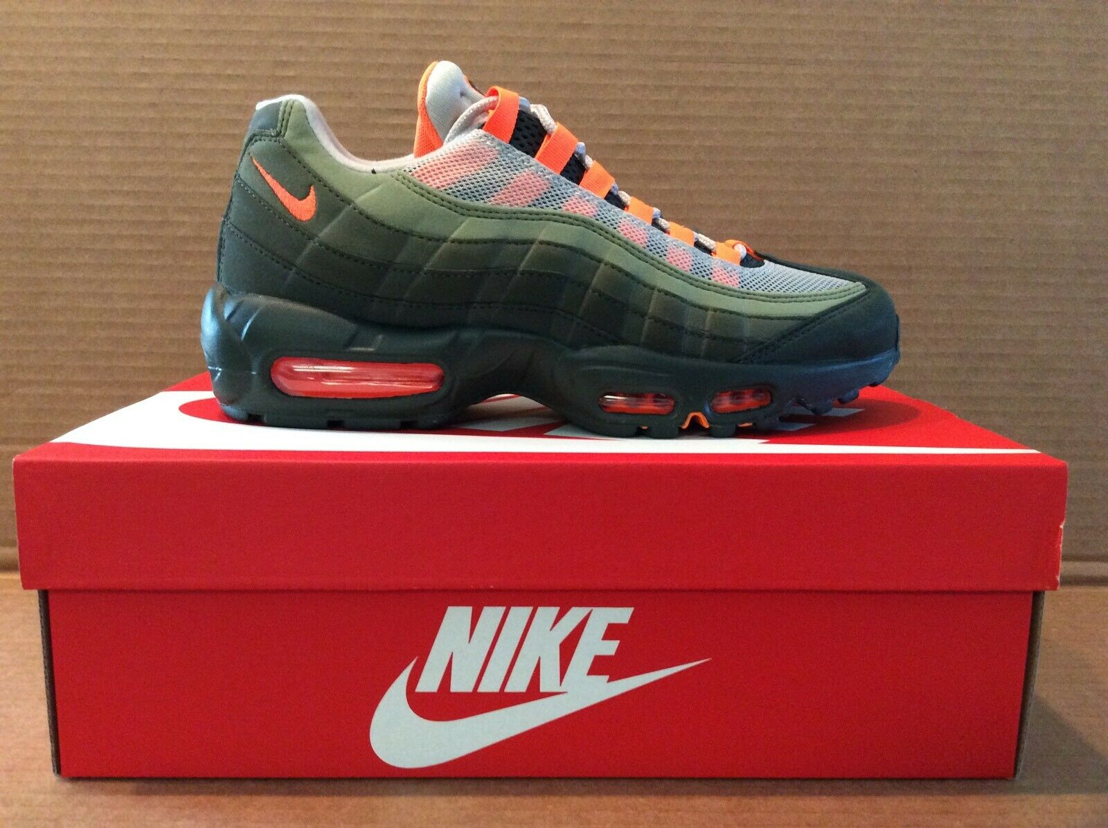 Schuhe NIKE Air Max 95 Prm 538416 201 Neutral Olive