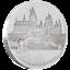 Niue-2-Dollar-2020-Harry-Potter-Classic-1-Hogwarts-Castle-1-Oz-Silber-PP thumbnail 1