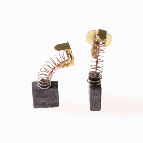 4x Carbon Brush Set for Ridgid 0502025007 /& Dewalt 614367-00 Fit Ryobi BTS21-D04