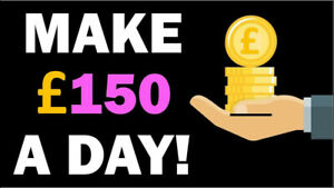 Earn 150 A Day From This Business Idea For Sale Work From Home Start Today Ebay
