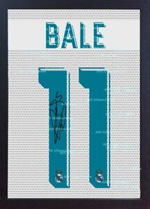 Gareth Bale signed autograph printed on CANVAS 100 Cotton Framed - LINCOLN, United Kingdom - Gareth Bale signed autograph printed on CANVAS 100 Cotton Framed - LINCOLN, United Kingdom