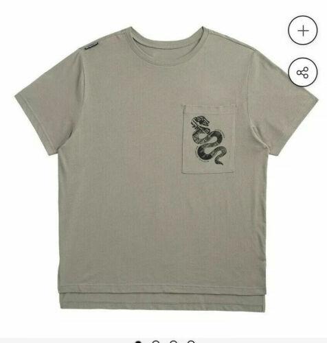 Taylor Swift Reputation Stadium Tour Oversized Pocket Tee Green Snake Shirt S