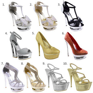 WOMENS-LADIES-DIAMANTE-HIGH-HEEL-PROM-SHOES-BRIDAL-EVENING-PLATFORM-SANDALS-SIZE