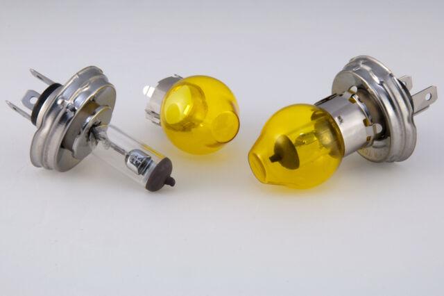 Lot de 2  Ampoules H5 12Volt 60/55 Watt  jaunes voitures classiques anciennes