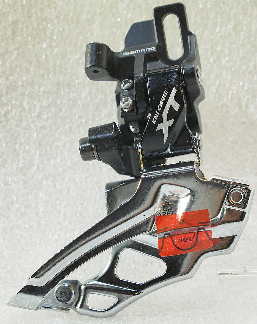 Shimano Fd-m786-d Xt 2x10 velocidad de montaje directo  desviador delantero, Negro  ventas calientes