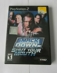 WWE-SmackDown-Shut-Your-Mouth-Sony-PlayStation-2-2002-FAST-SHIPPING-PS2