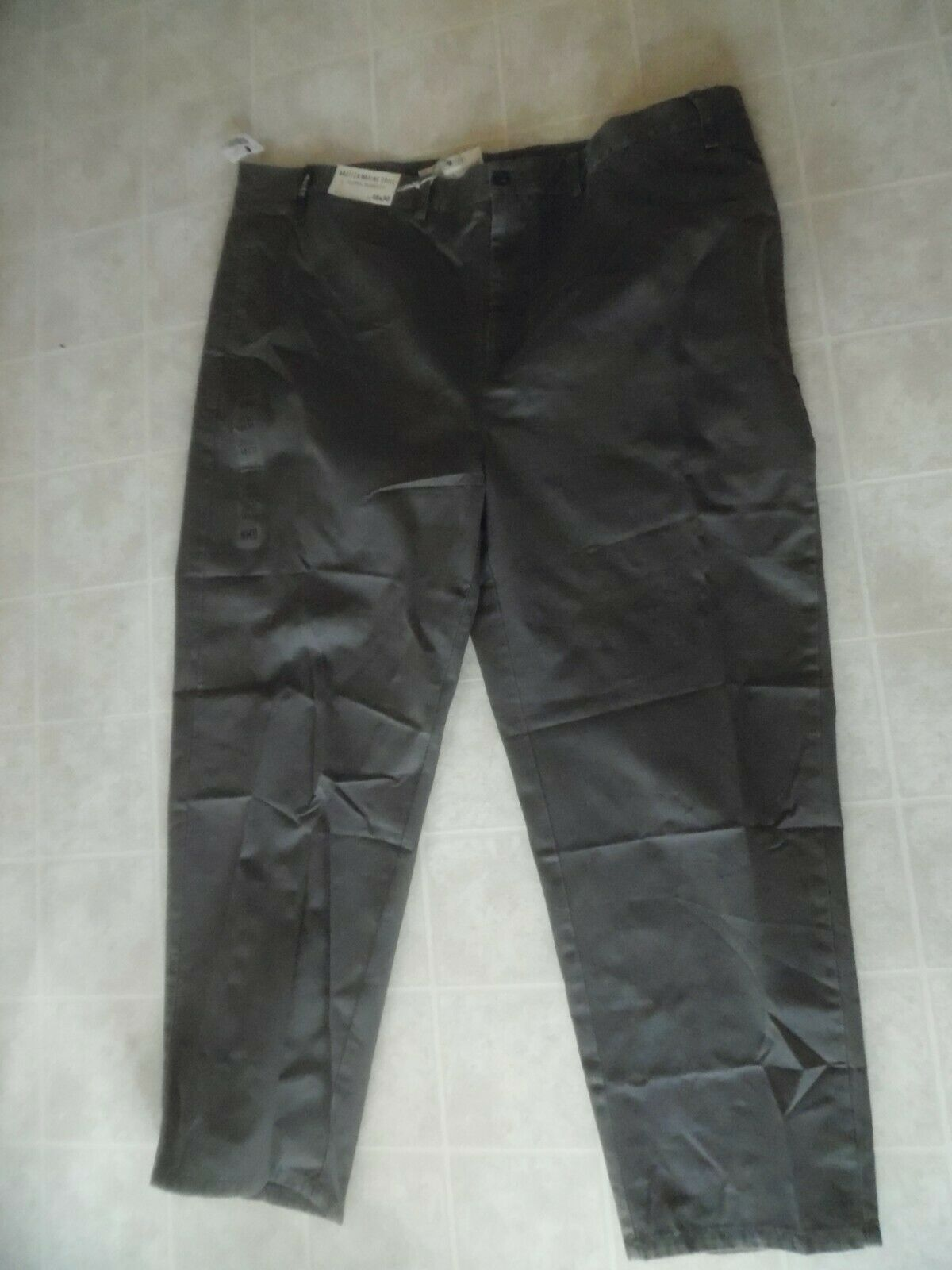 NWT Nautica Men's Clipper Relaxed Fit Pants , Size 48x30