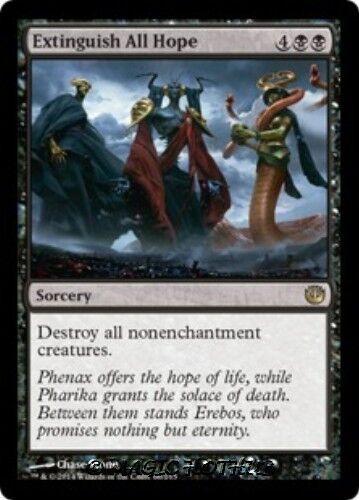 EXTINGUISH ALL HOPE Journey into Nyx MTG Black Sorcery RARE