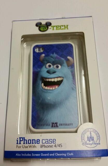 DISNEY PARKS D-TECH MONSTERS INC UNIVERSITY  SULLEY BLACK iPHONE 4S CASE Blue
