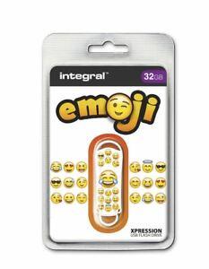 Integral-USB-2-0-Expression-Flash-Drive-32GB-Emoji-INFD32GBXPREMOJI
