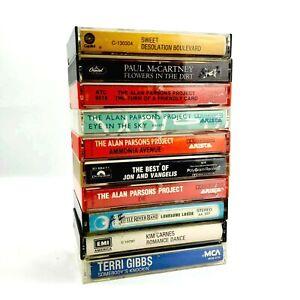 Vintage Cassette Tapes - Lot of 10 - Various Artists