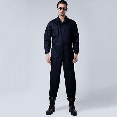 Mens Long Sleeve One Piece Workwear Overall Boilersuit Coveralls Auto-repair new