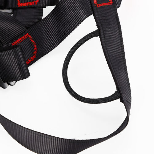 Adjustable Climbing Harness Half Body Safety Belt Fall Protection Nylon /& Alloy