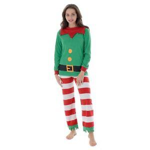 plus près de dernière vente bien connu Détails sur Femmes Noël Maman ELF Fleece Pyjamas Set Haut Femme Pantalon  Nouveauté Noël Pyjama- afficher le titre d'origine