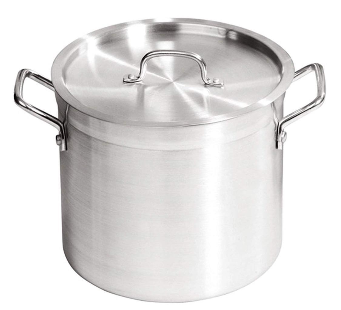 Qualité Commerciale ZSP Aluminium Casserole avec couvercle 24 l hiver bouillons soupes etc