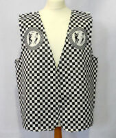 Ska Design Waistcoat Fun & Fancy For All Occasions Parties Available S,m,l,xl
